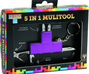Looking for something to fill the void in your life, well this Tetris multitool is the perfect fit!