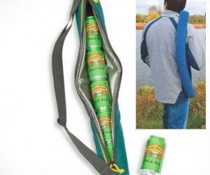 Sling that six pack on your back and your beer will still be cold at the end of your walk!