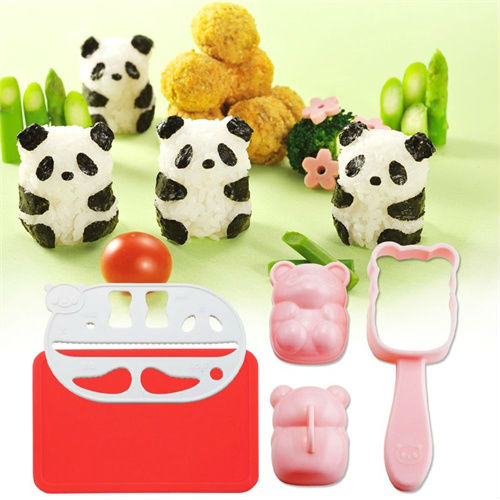 baby panda rice ball kit