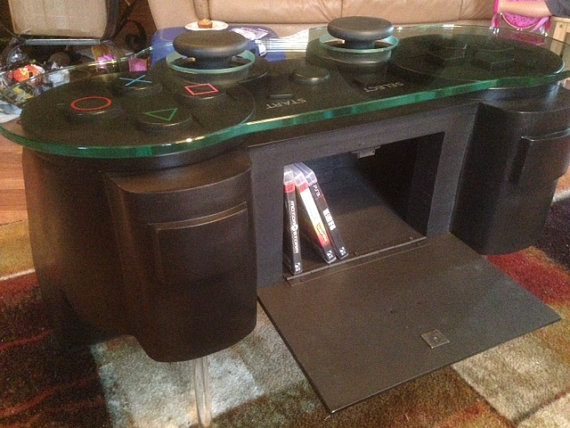 Controller Coffee Table.Playstation Controller Coffee Table Shut Up And Take My Money