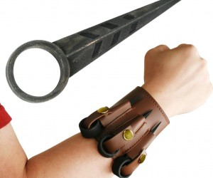 Keep a self defense weapon handy (or wristy) in case of bad guys… or zombies!