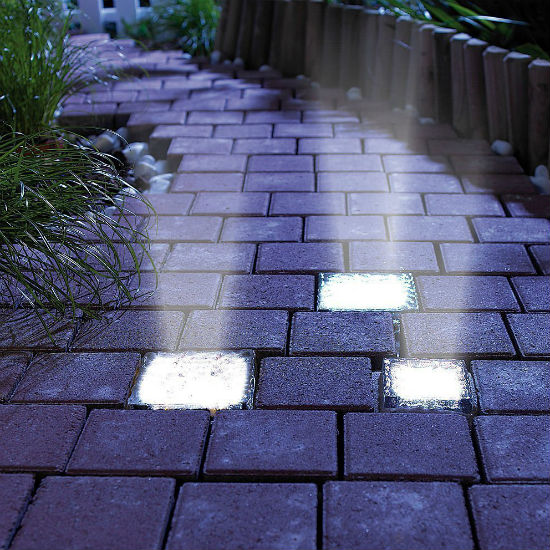 solar powered light up bricks