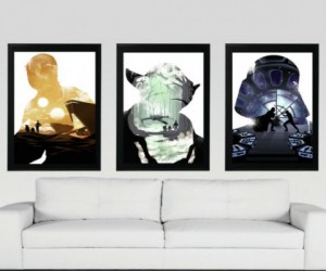 Star Wars Trilogy Poster Set  – You don't have to be a part of the Dark Side to enjoy a nice, steamy, threesome!