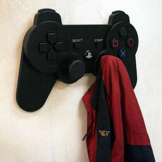 Playstation Controller Coat Rack Shut Up And Take My Money