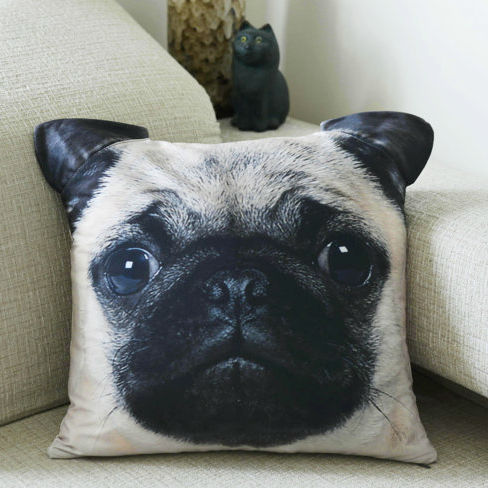 animal face pillow