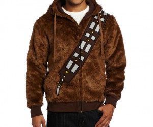 Star Wars Chewbacca Hoodie – Made out of real wookie fur!