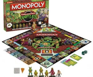 Ninja Turtles Monopoly – Check out this radical rendition of TMNT collector's edition Monopoly!