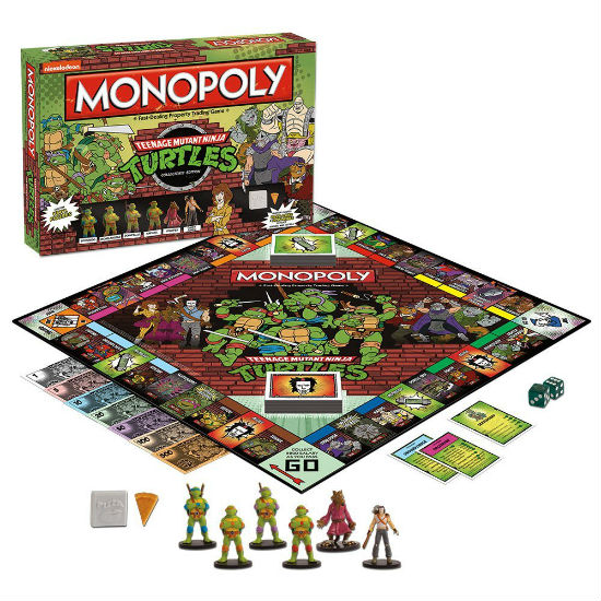 ninja turtles monopoly