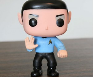 Live long and prosper with this adorable (yet logical) pop vinyl figurine.