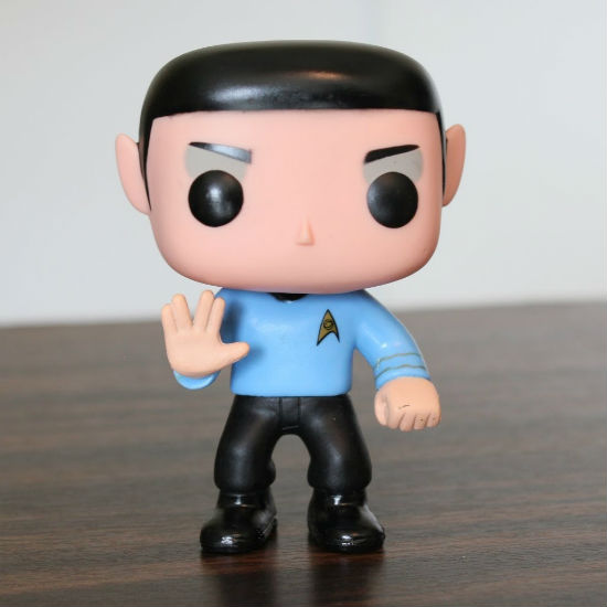 spock pop vinyl figure