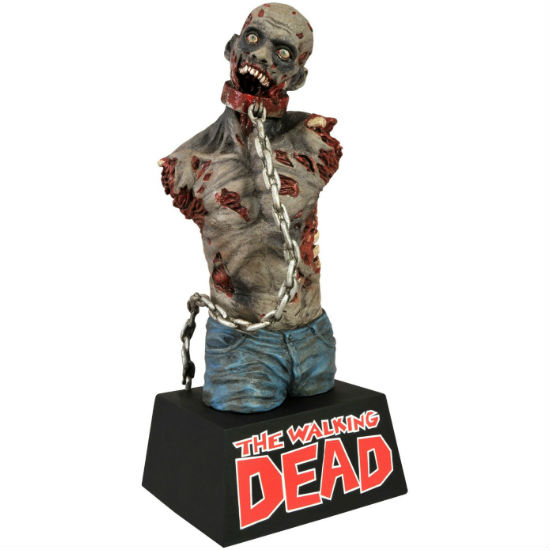 the walking dead zombie bust bank