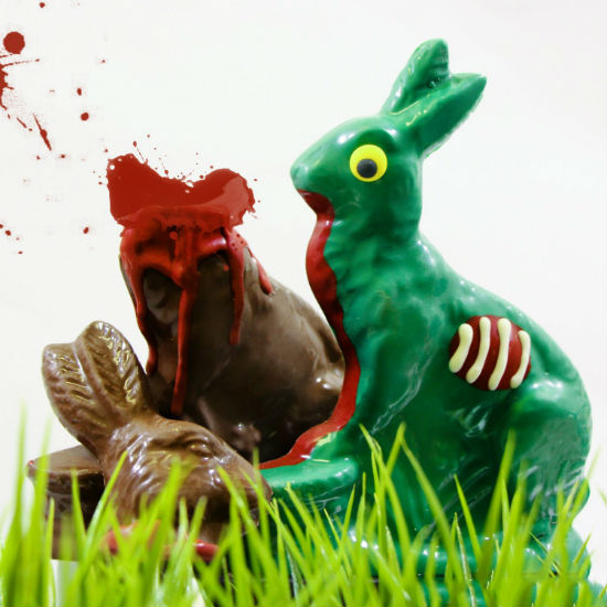zombie easter bunny
