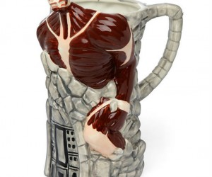 After a heavy battle against Titans, it's nice to relax with a stein of beer!
