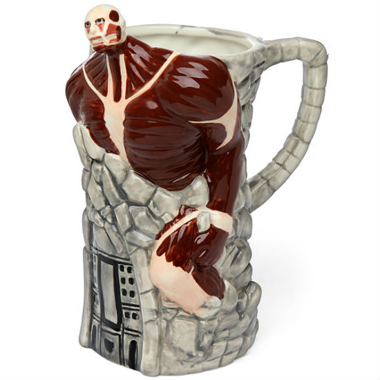 attack on titan 3d beer stein