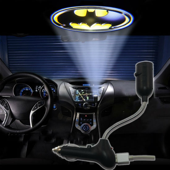 batman dashboard projection light