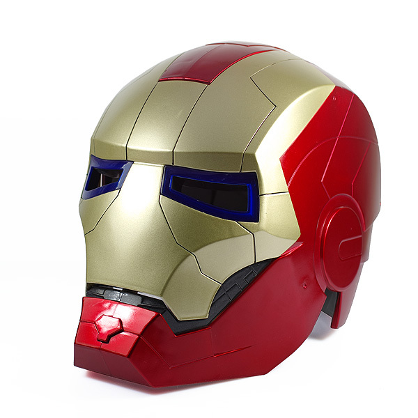 Iron Man Motorcycle Helmet on Batman Dot To
