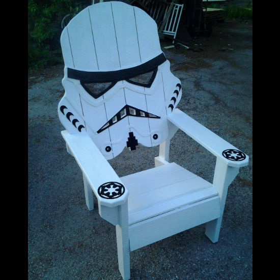 stormtrooper beach chair