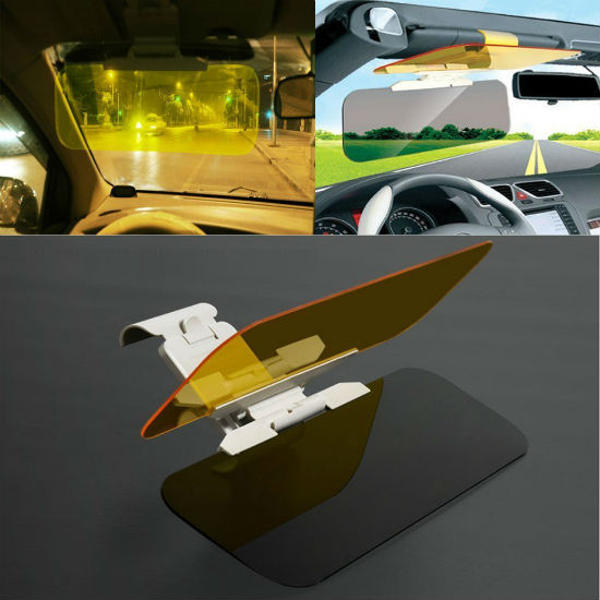 transparent sun visor