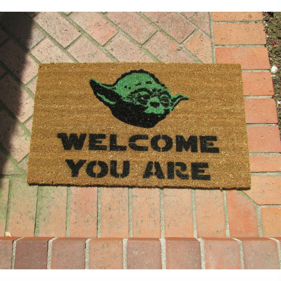 yoda welcome mat