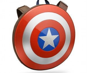 Marvel Captain America Shield Backpack – Wear Captain America's shield on your back!