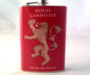 Game Of Thrones Flask – Hold me closer tiny Lannister!