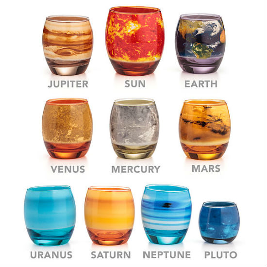 planetary shot glass set