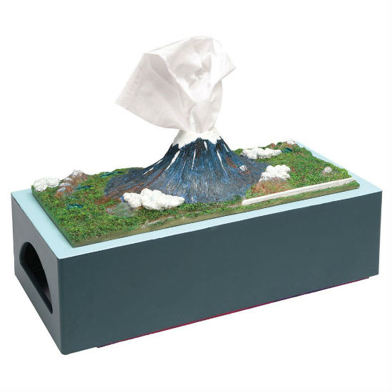 Mt fuji tissue dispenser