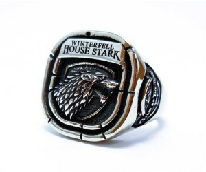 GoT House Stark Ring – Shines just like Valyrian Steel!