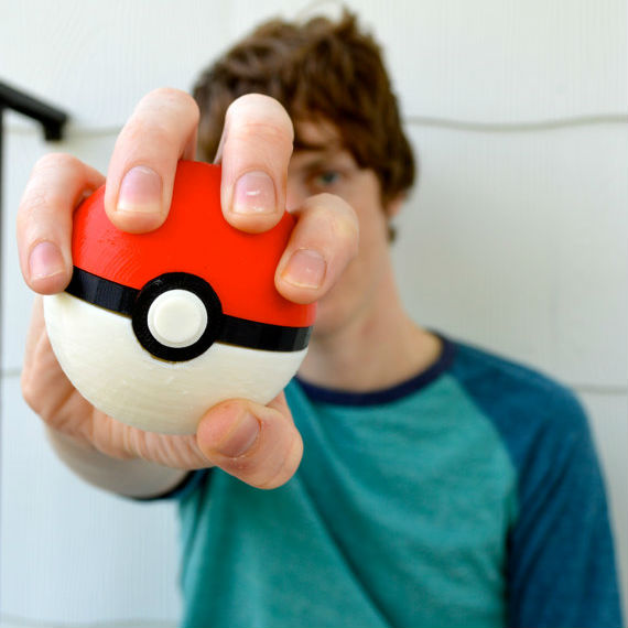 3d printed pokeball