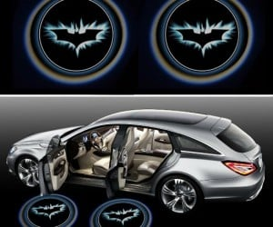 Since you probably can't afford a Batmobile, this might be the next best thing.