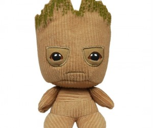 Made out of soft corduroy and able to stand on its own, this Groot will surely be the cutest addition to your plush collection!