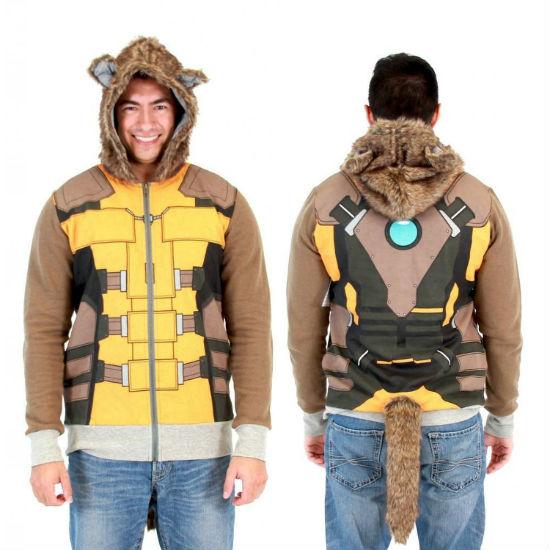 rocket raccoon hoodie