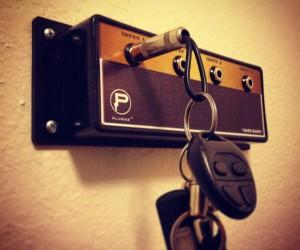 Guitar Amp Key Holder – Hang your keys like a rockstar!