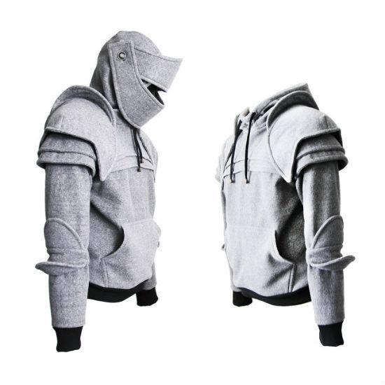 knights armor hoodie