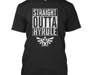 Straight Outta Hyrule Shirt – Navis With Attitude