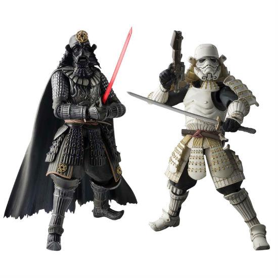 star wars samurai figurines