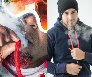 The only hoodies that feature an opening in the drawstring that let you vape discreetly and in style.