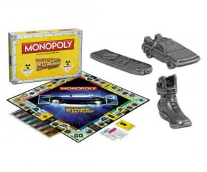 Back To The Future monopoly! You'll wish you had a real time machine to get you to the end of this game!