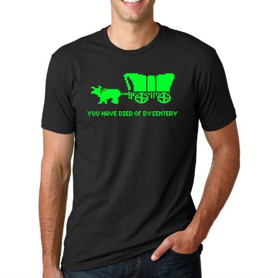 died of dysentery shirt