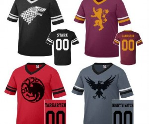 Game of Thrones Sports Jerseys – Brace yourself game day is coming!