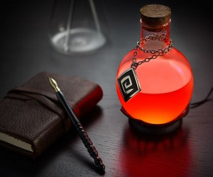 LED Potion Lamp – Works like a charm!