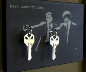 Keys Motherf*cker Key Holder – Say keys one more time!