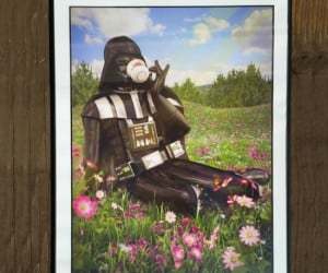 Darth Vader Sipping Tea Poster – Sometimes a Sith Lord just needs to enjoy the simpler things in life.