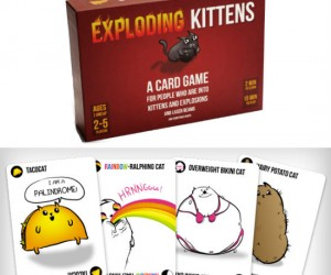 Exploding Kittens Card Game – Exploding Kittens is a card game for people who are into kittens and explosions and laser beams and sometimes goats.