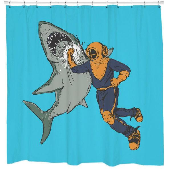shark-punch-shower-curtain