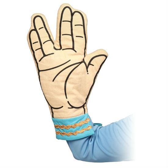 spock oven mitts