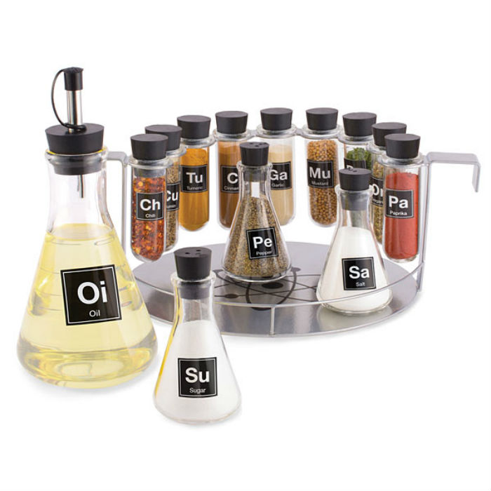 chemist spice rack