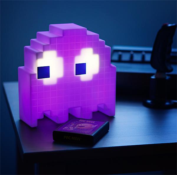 pacman ghost lamp