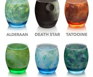 Star Wars Planetary Glassware – There's something alive down there!