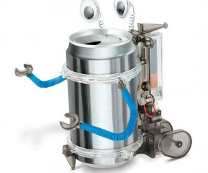Tin Can Robot – Building a robot is as easy as drinking a coke!